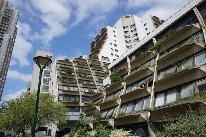 Orgues de Flandre - Paris public housing